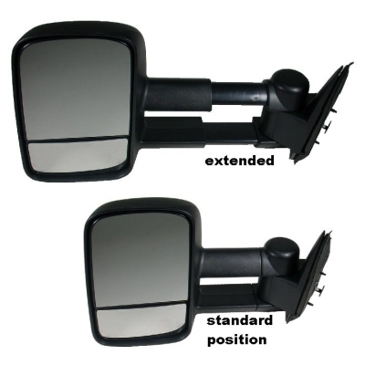 Telescoping / Telescopic / Extendable Towing Mirrors